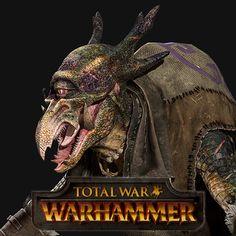 Total War Warhammer - Norsca DLC - Fimir Balefiend Variants, Tom Parker on ArtStation at https://www.artstation.com/artwork/W0k9N