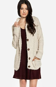 Hooded Cardigan @Pascale De Groof