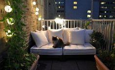 30 Cool Ideas To Make A Small Balcony Cozy / Shelterness (balcony)