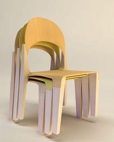 The COMBO chair by Velichko Velikov, via Behance
