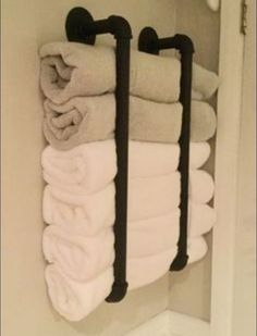 20 Small Bathroom Storage Ideas and Wall Storage Solutions 25 . 20 Small Bathroom Storage Ideas and Wall Storage Solutions 25 Small Bathroom Storage Creative. This post focuses on small bathroom organizing ideas and simple bathroom storage solutions. Bathroom Towel Storage, Bathroom Storage Solutions, Small Bathroom Organization, Bathroom Towels, Home Organization, Organizing Ideas, Bathroom Cabinets, Basement Bathroom Ideas, Bathroom Interior