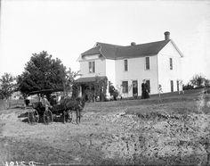 Circa 1886. A.H. Shepard, Ansley, Custer County, Nebraska. Solomon D. Butcher [Nebraska State Historical Society - nbhips 12537] http://www.loc.gov #American #History #Nebraska