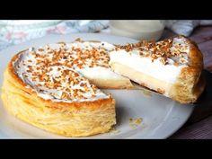 TARTA REGINA- ¡Deliciosa! - YouTube Icebox Cake Recipes, Dessert Recipes, Quiches, Spanish Desserts, Cake Hacks, Peruvian Recipes, Cake Shop, Food N, Sin Gluten