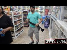 Store owner wants to show Ferguson rioters, he has a powerful deterrent - RAW Footage! ⋆ WayneDupree.com
