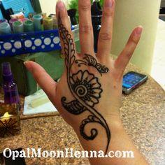 Henna art by OpalMoonHenna.com - love!!