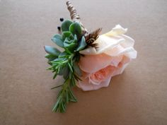 corsage with succulents - Google Search