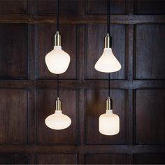 Porcelain Led Bulbs by Tala www.beluce;be
