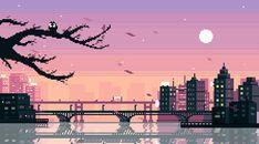 Aesthetic Wallpaper GIF for PC /bridge