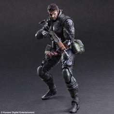 Metal Gear Solid V The Phantom Pain Play Arts Kai Actionfigur Venom Snake Sneaking Suit Ver. 27 cm