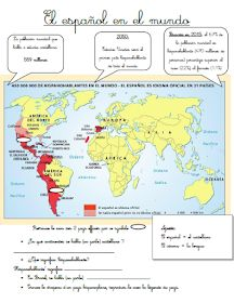 Les quichotteries de Delphine: El Español en el Mundo Spanish Teacher, Spanish Class, Learning Spanish, Teaching, Delphine, English, Culture, School, Running