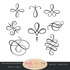 Decorative Ornaments Set of 8 Pack 1 Our decorative ornaments pack contains . - Decorative Ornaments Set of 8 Pack 1 Our Decorative Ornaments Pack contains pack of 8 large beautif - Clipart, Diy Tattoo, Poke Tattoo, Tattoo Ideas, Tattoos, Tattoo Drawings, Wedding Clip, Wedding Ornament, Calligraphy Art