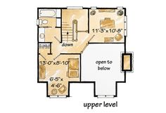 Browse country house plans with photos. See thousands of plans. Watch walk-through video of home plans. Small Log Home Plans, Small Log Homes, Log Cabin Floor Plans, Small Log Cabin, Cabin House Plans, Log Cabin Homes, Country House Plans, House Floor Plans, Home Plan Drawing