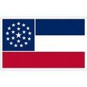 State Of Mississippi - Vinyl Flag Sticker