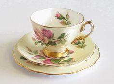 Vintage Royal Albert Tea Trio English Beauty by TheWhistlingMan, £15.00