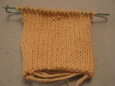 Knitting a Circular Gauge Swatch - How to Knit a Gauge Swatch for Circular Knitting without having to cast on a huge number of stitches