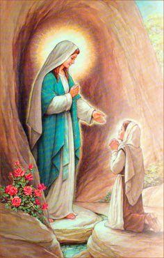 Religiosidade Virtual: Nossa Senhora de Lourdes