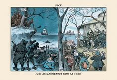 Just as Dangerous Now as Then - Puck, by F. Opper