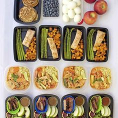 Meal Prep - Week of March - Peanut Butter and Fitness Diet Soup Recipes, Oats Recipes, Diet Snacks, Diet Drinks, Dinner Recipes For Kids, Healthy Dinner Recipes, Healthy Foods To Eat, Healthy Snacks, Healthy Cooking