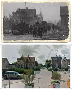 Hermanville-sur-Mer, Avenue du 6 Juin 3a divisione di fanteria britannica SETTORE #Junobeach #Normandia1944 D Day Ww2, D Day 1944, D Day Landings, Foto Poster, Days Of Future Past, Powerful Images, United States Army, World War One, World History
