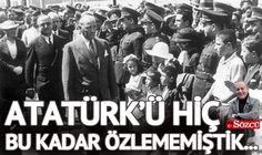 Bugün 19 Mayıs... Dön bak caddelere, Mustafa Kemal hiç bu kadar Samsun'a çıkmamıştı... Kutlu olsun.