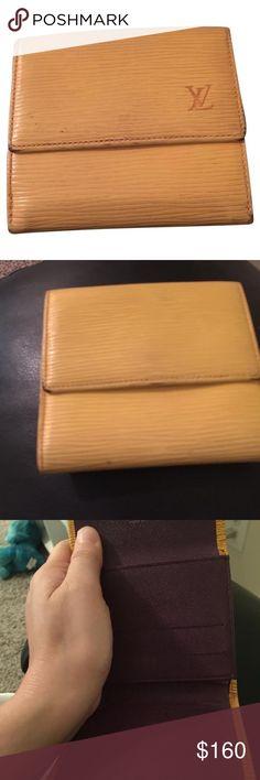 Louis Vuitton epi leather wallet Louis Vuitton epi leather wallet Louis Vuitton Bags Wallets