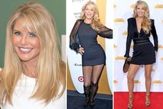 Christie Brinkley, 62, said her anti-aging beauty and fitness secrets are a vegan diet and yoga workouts. Christie denies having plastic surgery but has used Botox and laser skin treatments.