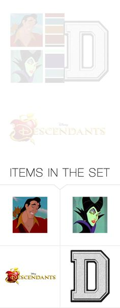 """Disney Decedents Mini Games"" by princess-jinx ❤ liked on Polyvore featuring art"
