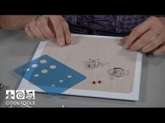 Cool Tools: EZ960™ Adjustable Bezel Ring by Lisel Crowley - YouTube