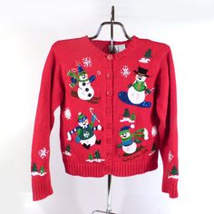 Ugly Christmas Sweater Vintage Kid's by purevintageclothing Holiday Tacky Party