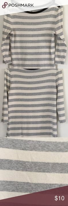 Gap Striped Boat Neck Long Sleeve Top Size Large Gap Striped Boat Neck Long Sleeve Top Size Large Women's GAP Tops Blouses
