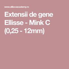 Extensii de gene Ellisse - Mink C (0,25 - 12mm)