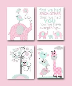 Baby Girl Nursery Quotes Kids Wall Art Kids Art INSTANT