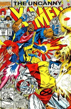 The Uncanny X-Men Comic #292
