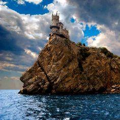 Swallows Nest Castle, Yalta, Ukraine.
