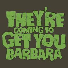"""They're coming to get your Barbara."" Night of the living dead. Best Horror Movies, Classic Horror Movies, Scary Movies, Terror Movies, Scream, Best Horrors, Classic Monsters, Vintage Horror, Halloween Horror"