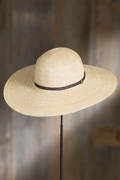 Mrs. Davis Goorin Brothers Straw Sun Hat | Overland Sheepskin
