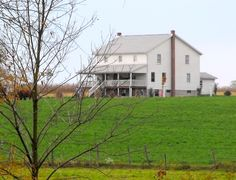 For many Amish families, large homes are needed. This is what I want!