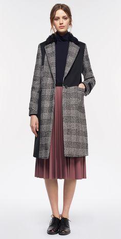 MAX&Co. AW 2015 - Coat CENTURIA / Turtleneck CRETA / Skirt PETRA / Shoes ALICE