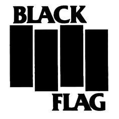 Black Flag Logo Music Logo, Band Logos, Black Flag Band, 10 Logo, Henry Rollins, Logo Branding, Movie T Shirts, Atari Logo, Adidas Logo