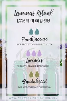 Essential Oil Blends, Essential Oils, Wicca Recipes, Wicca Witchcraft, Magick, Samhain Ritual, Glass Spray Bottle, Season Of The Witch, Sabbats