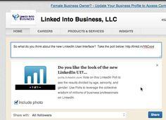 Wie Sie eine #LinkedIn Umfrage zum Unternehmensprofil hinzufügen by @Viveka von Rosen