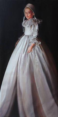 Elisabeth | 2016 | Öl auf Leinwand | 80x160cm