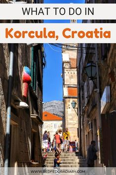 Korcula is a fascinating island to explore, however the main attractions are in its old town. Read my tips on top 7 things to do in Korcula Korcula Croatia | Croatia Travel | Korcula Island Travel Advice, Travel Guides, Travel Tips, Honeymoon Destinations, Amazing Destinations, Korcula Croatia, Christmas In Europe, Croatia Travel, City Guides