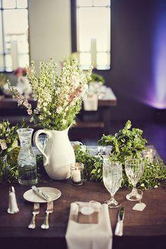 Trendy Wedding ♡ blog mariage • french wedding blog: Décoration de table : On ressort la vaisselle de mamie !