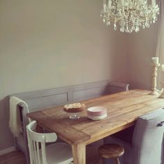 Eetkamer Dining Room, Dining Table, Happy House, Modern Living, Sweet Home, Heart, Natural, Interior, Kitchen