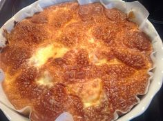 tarte briochée au Maroilles