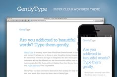 Not a fan of WordPress, but this theme is quite lovely. GentlyType — Clean WordPress Theme ~ Creative Market