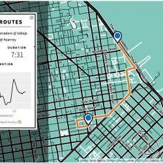 Bay Area Bike Share Interactive Map   Visual.ly