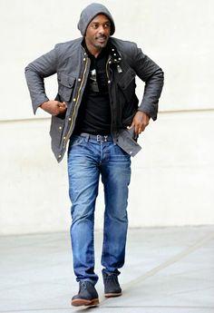 naijamilk.com: Photo of the day, Holly wood Actor Hunky Idris Elb...