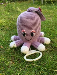 Fejlrettelse af Opskrift på hæklet blæksprutte